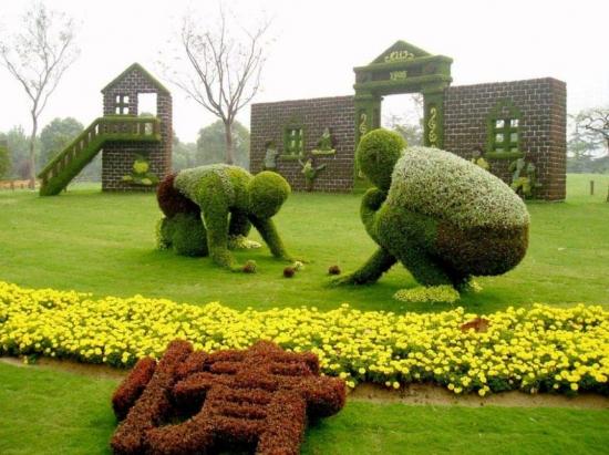 漂亮的园艺